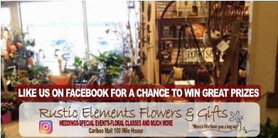 Cariboo Radio - Rustic Elements Flowers and Gifts Like Us on Facebook