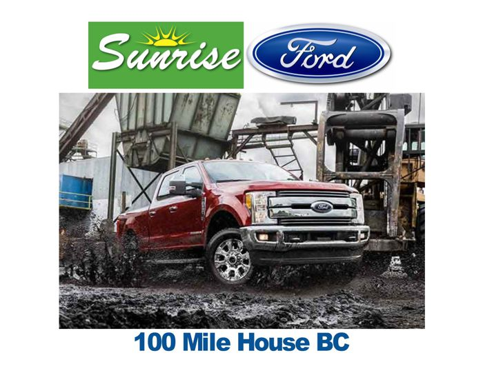Cariboo Radio Sunrise Ford Sponsor