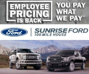 Sunrise Ford Sales Ltd Roadside Report with Bev Fry - Thursday, August 30th/2018