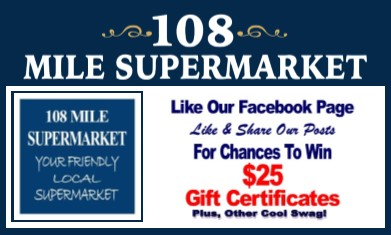 Cariboo Radio - 108 Mile Supermarket - Like us on Facebook to Win!