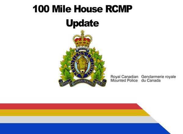 Two people charged with multiple offences of stolen property in the south Cariboo area. 100 Mile House RCMP