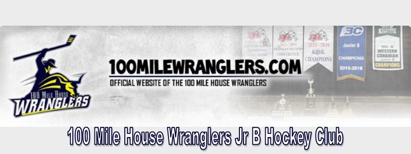 100 Mile House Wranglers Jr B Hockey Club