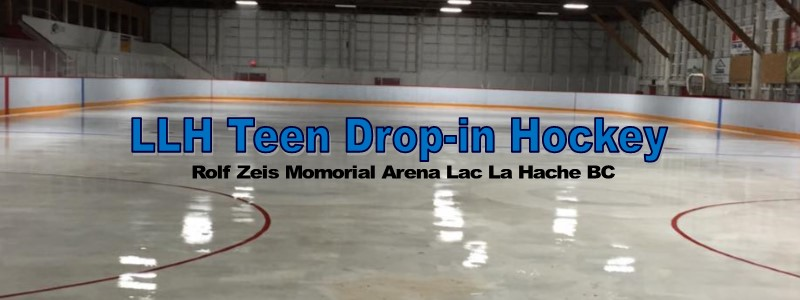 Lac La Hache Teen Drop-In Hockey 2018-2019