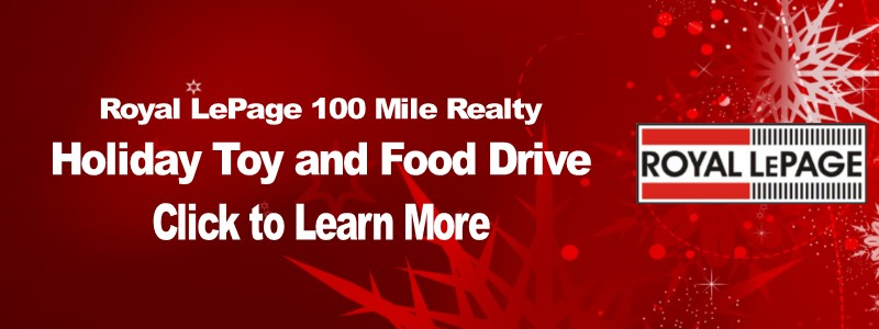 Royal LePage 100 Mile Realty Holiday Toy and Food Drive