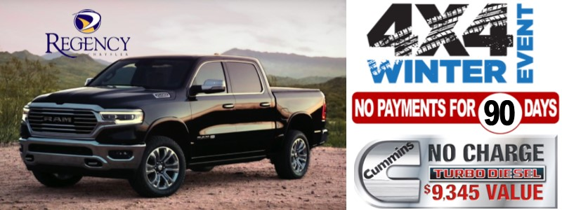Regency Chrysler 4x4 Winter Sale Event