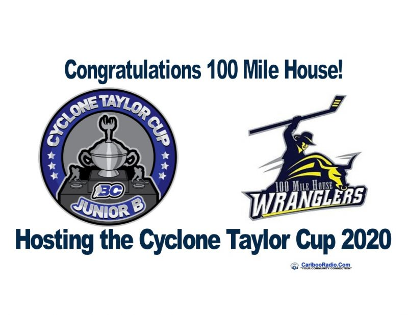 100 Mile House BC to Host the Cyclone Taylor Cub in 2020