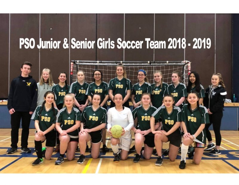 Peter Skene Ogden Jr. - Sr. Girls Soccer Team win 6 of 9 games in Hope