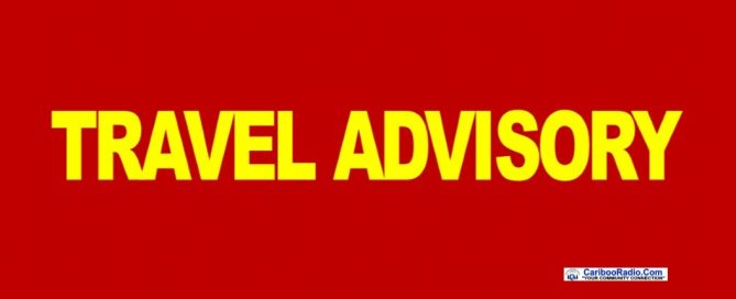 Travel Advisory for Ashcroft, Loon Lake Rd, Cache Creek Highway 99 - 1
