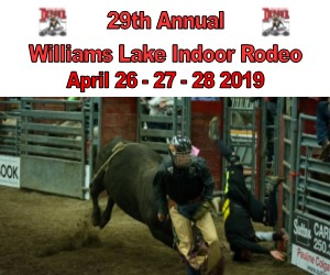 29th Annual Williams Lake Indoor Rodeo April 26th-27th-28th 2019