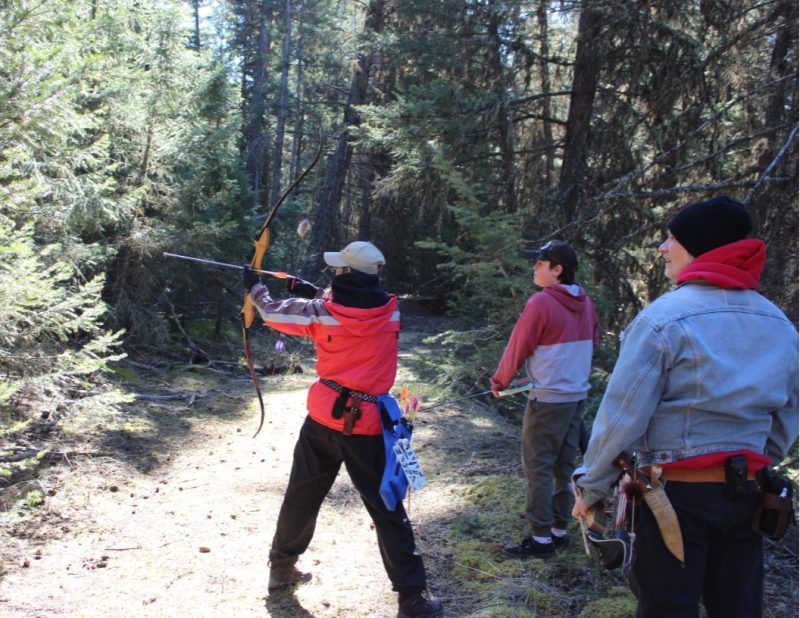 Perfect weather for the Big Horn Archery Clubs 2019 Stump Shoot