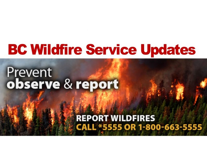 Burning further restricted in Cariboo Fire Centre - Please Read