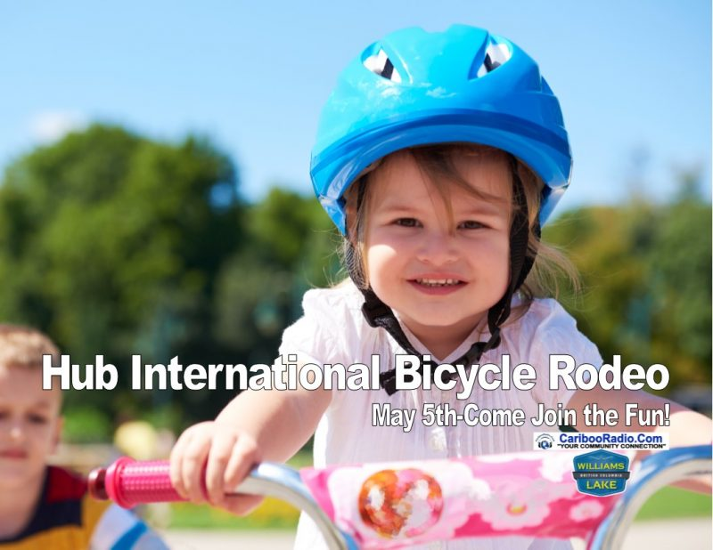 The Hub International Bicycle Rodeo is ready to roll again May 5th-Come Join the Fun