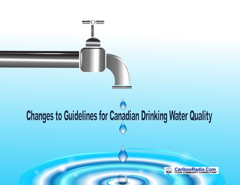 Changes to Guidelines for Canadian Drinking Water Quality