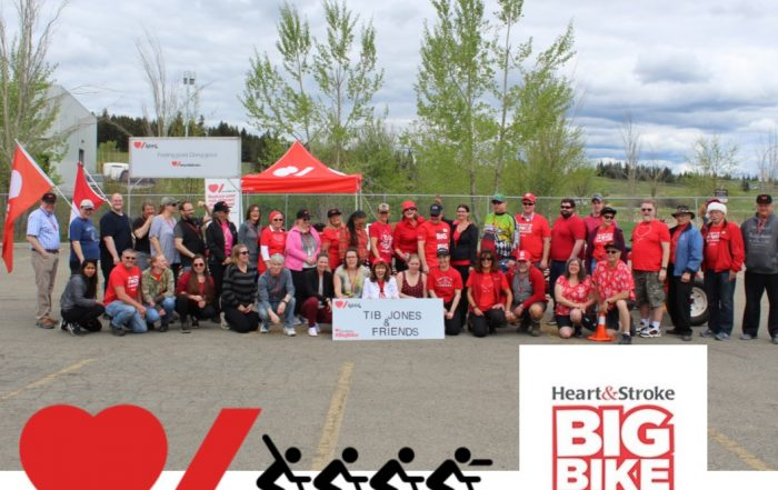 Heart & Stroke Foundation Big Bike Ride raises a total of $45,584 in 100 Mile House since 2007