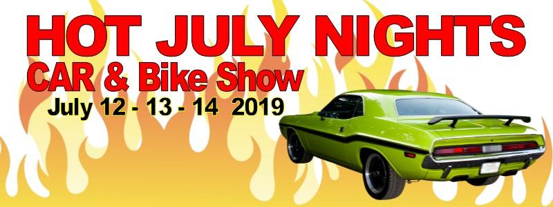 Hot July Nights Car and Bike Show 2019
