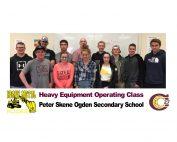 Peter Skene Ogden Heavy Metal Rocks Class ready to move earth